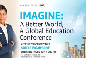 AWS Imagine conference in Seattle USA 1