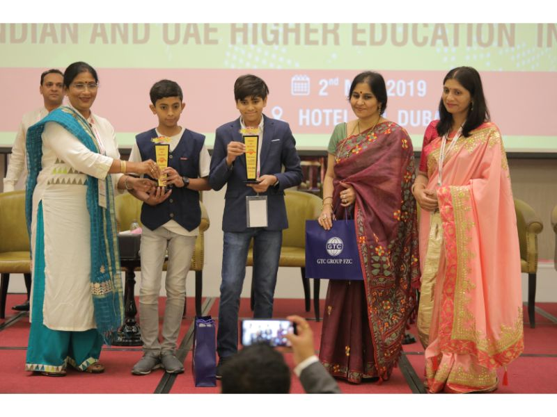 Dialogue India-UAE - Child Innovator Award