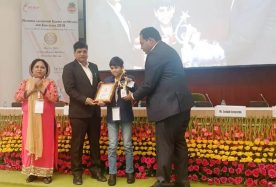 _Child Prodigy and Innovator Award_ at National Leadership Summit on Women and Education 2019