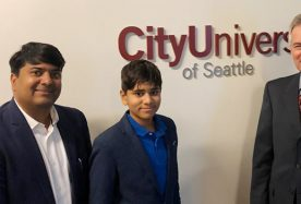 Guest Lecture at City University, Seattle
