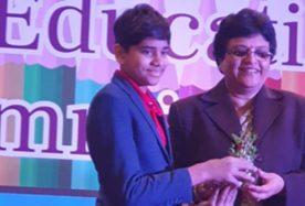 _Student Innovator Award_ at the CEGR- School Education Summit 2019 1